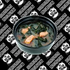 Miso juha od  lososa